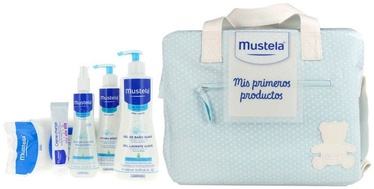 Mustela First Products Bag 6pcs Set 1050ml Blue