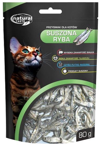 Dolina Noteci Natural Taste Cat Snack Dried Fish 80g