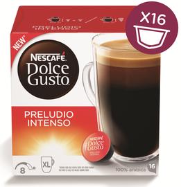 Kavos kapsulės NESCAFÉ® Dolce Gusto® Preludio Intenso, 16 vnt., 160 g