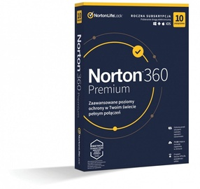 Norton 360 Premium 75GB PL 1-User 10-Devices 1-Year