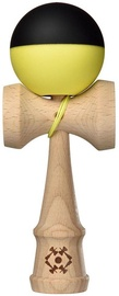 Kendama USA Tribute Half Split Yellow/Black TRB133