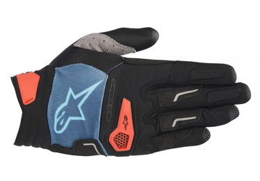 Alpinestars Drop Pro Gloves XL Blue/Orange