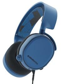 Ausinės SteelSeries Arctis 3 Gaming Headset Blue