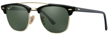 Ray-Ban Clubmaster Double Bridge RB3816 901/58 51mm Polarized