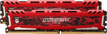 Crucial Ballistix Sport LT Red 8GB 3200MHz CL16 DDR4 KIT OF 2 BLS2K8G4D32AESEK