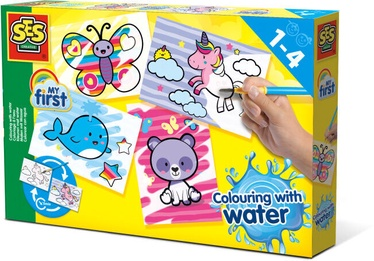 SES Creative Colouring With Water Fantasy Animals