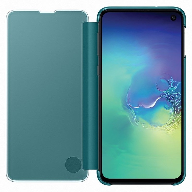 Samsung S-View Flip Cover For Samsung Galaxy S10e Green