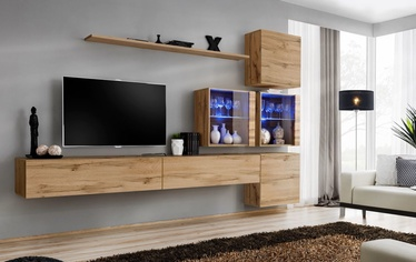 Svetainės baldų komplektas ASM Switch XIX Wotan Oak