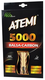 Atemi Ping Pong Racket 5000 Balsa Carbon Concave