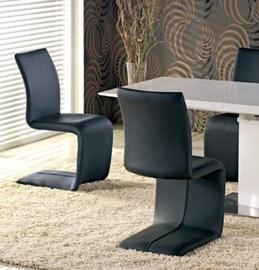 Ēdamistabas krēsls Halmar Flavio Black