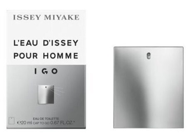 Tualettvesi Issey Miyake L'Eau D'Issey Igo EDT, 20 ml