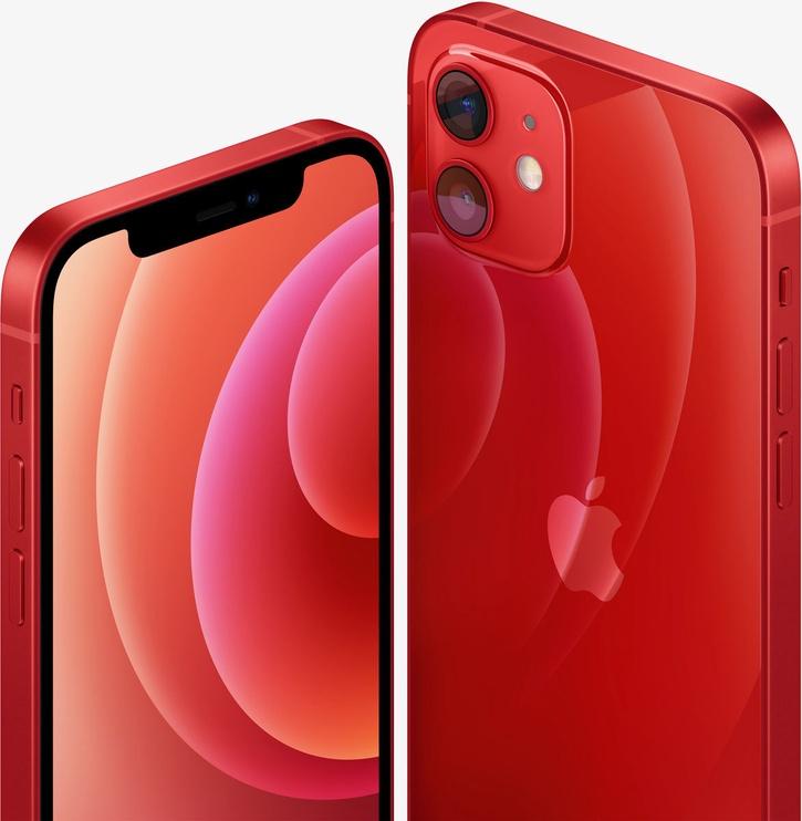Мобильный телефон Apple iPhone 12 Red, 64 GB