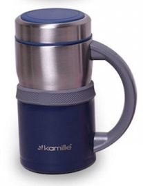 Kamille Vacuum Flask 500ml Blue KM2018