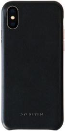 So Seven Premium Colors Back Case For Apple iPhone X/XS Black