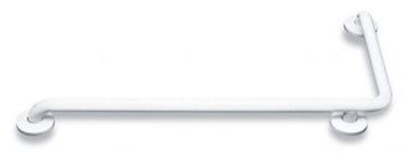 Mediclinics Mediepoxy 90 Degree Angled Grab Bar White