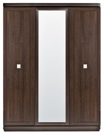 Black Red White Oregon Wardrobe SZF3D Canterbury Oak