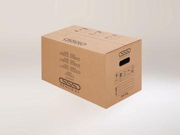 Maža kartoninė dėžė, 39.2 x 29.2 x 23.2 cm