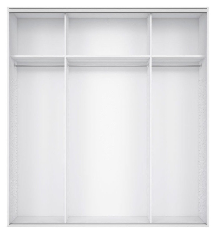 Black Red White Wardrobe Frame Nadir 190 White