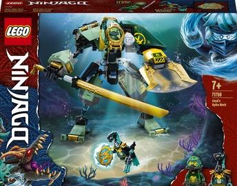 Конструктор LEGO Ninjago Водный робот Ллойда 71750, 228 шт.