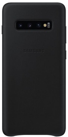 Samsung Leather Cover For Samsung Galaxy S10 Plus Black