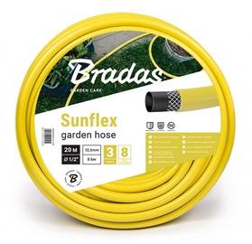 """Bradas Sunflex Garden Hose 5/8"""" 30m Yellow"""