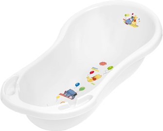 Keeeper Baby Bath 100cm With Plug Winnie The Pooh White