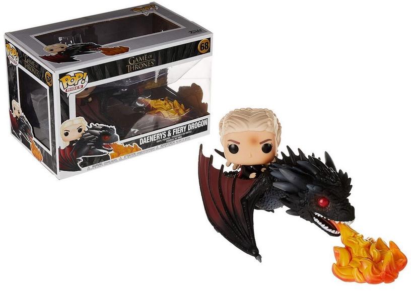 Funko Pop! Rides Game Of Thrones Daenerys & Fiery Drogon 68