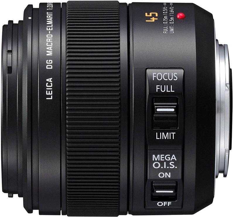 Panasonic Leica 45mm f/2.8 DG Macro-Elmarit ASPH Mega O.I.S