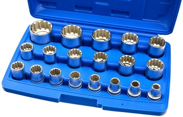 Geko Socket Head Set 1/2'' 19pcs
