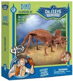 Geoworld Dino Excavation Kit Triceratops Skeleton CL1666K