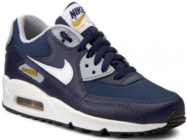 Nike Sneakers Air Max 90 Gs 307793-417 Blue 38