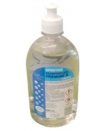 Spiritinė rankų dezinfekcijos priemonė R Koslita, 500 ml