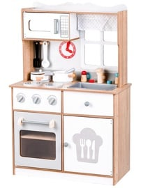 EcoToys Wooden Kitchen Stove Set White 53776
