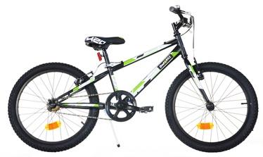 "Bimbo Bike 20"" Black White Green"