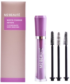 M2 Beaute Quick Change Artists 3 Looks Black Nano Mascara 6ml