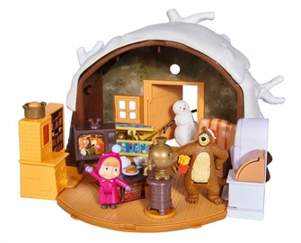 Žaislinė figūrėlė Simba Masha And The Bear Winter Bear House 109301023