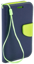 Telone Fancy Diary Bookstand Case Huawei P8 Lite Blue/Light Green