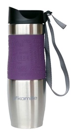 Kamille Vacuum Mug 480ml Purple KM2051