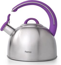 Fissman Emily Whistling Tea Kettle Purple