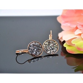 Vincento Earrings With Swarovski Elements Crystal Rocks VE-2236