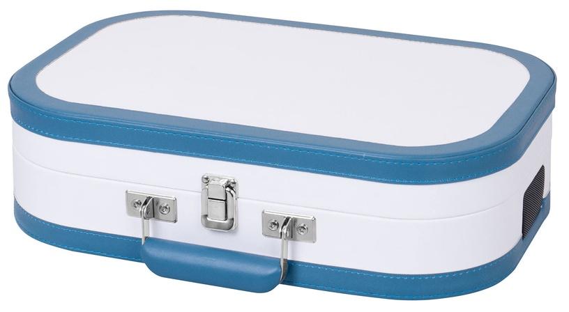 Plaadimängija Trevi TT 1020 BT, sinine/valge, 2.7 kg