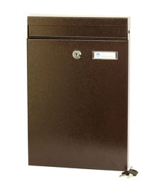 Postkast Glori Ir Ko PD930 Bronze, 255x50x380 mm