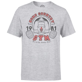 Nintendo T-Shirt Donkey Kong Gym Light Grey S
