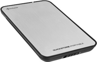 "Sharkoon QuickStore Portable 2.5"" USB 2.0 Enclosure"