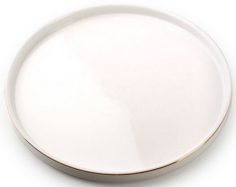 Taldrik Mondex AffekDesign Grace Dessert Plate White 20.3cm