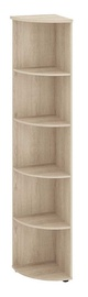 DaVita Alfa 64.49 Office Corner Shelf Kronberg Oak