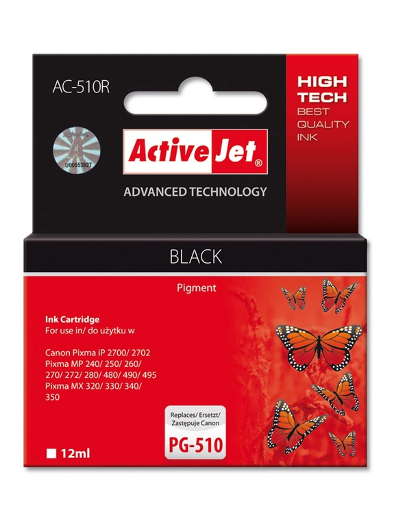 Action ActiveJet AC-510R Black