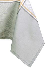 Скатерть AmeliaHome Olivet, серый, 4000 мм x 1400 мм