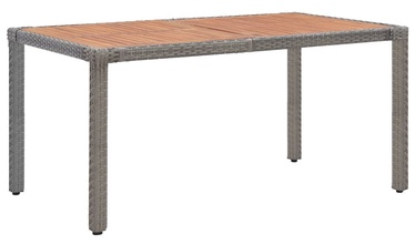 Садовый стол 46107, коричневый/серый