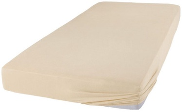 Bradley Bed Sheet Cream 160x200cm